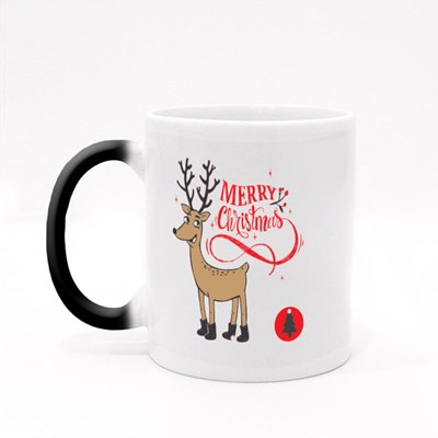 Hipster Merry Christmas Magic Mugs