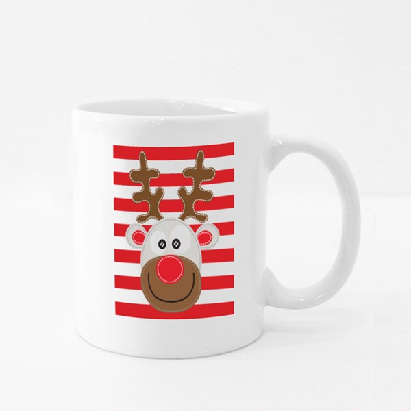 Santa Reindeer Colour Mugs