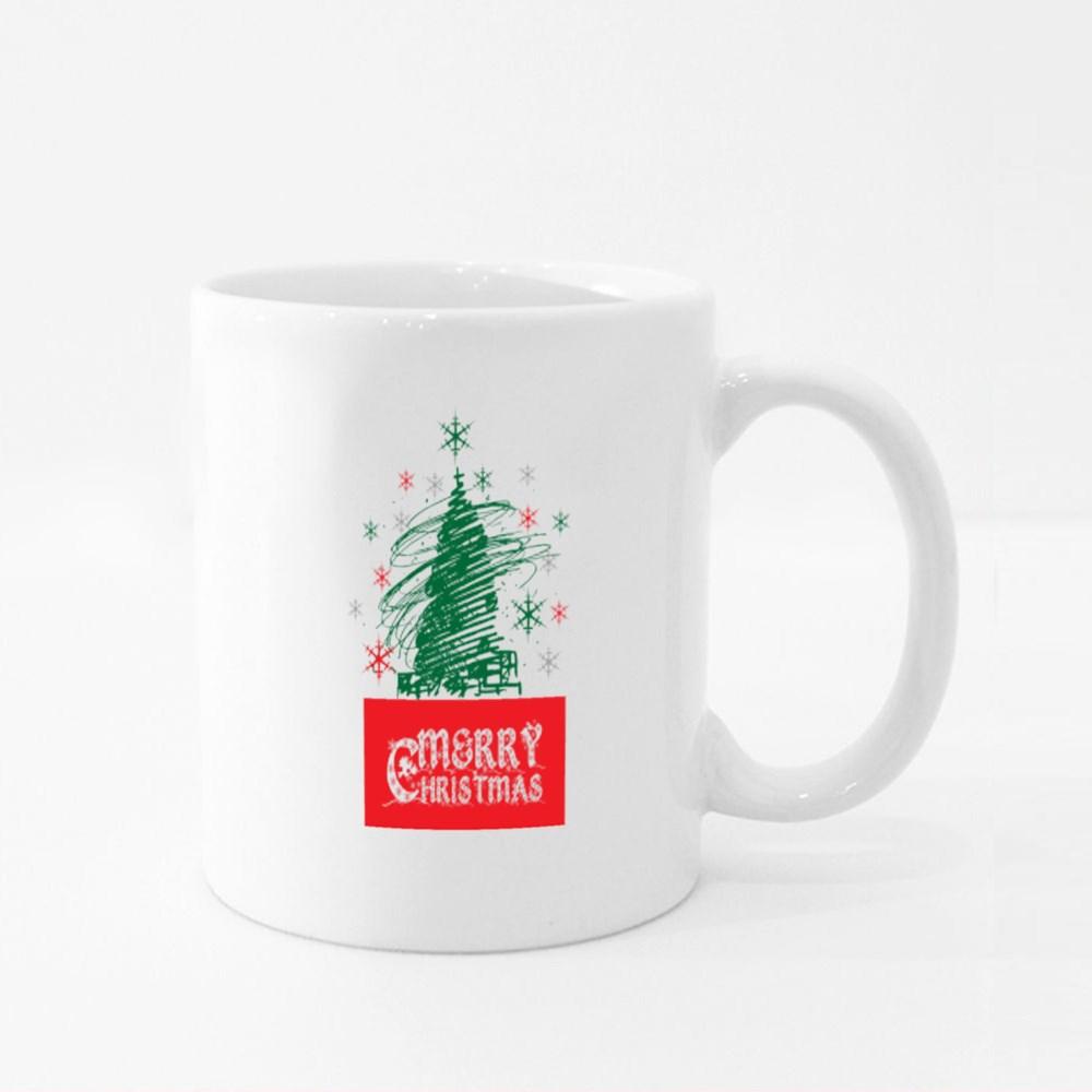 Merry Christmas Celebrate His Birth! Christmas Tshirt. Colour Mugs