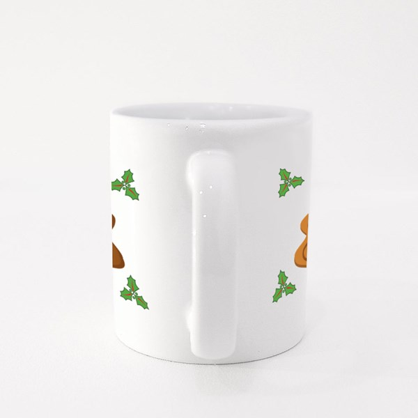 Christmas Tree, Gingerbread Colour Mugs