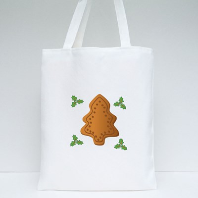Christmas Tree, Gingerbread Tote Bags