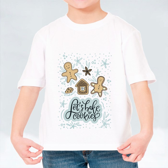 Let's Bake Cookies and Gingerbread Man T-Shirts (Kid)