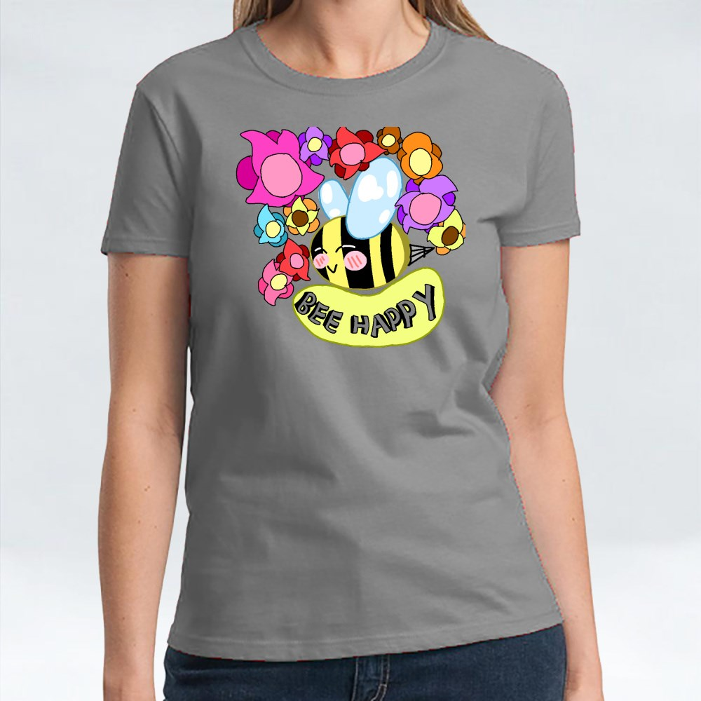 Bee Happy 01 T-Shirts