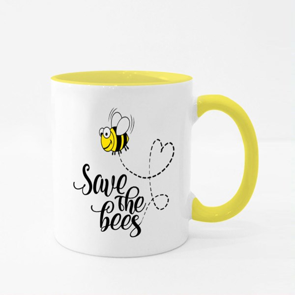 Lettering Poster or T-Shirt Textile Graphic Design Colour Mugs