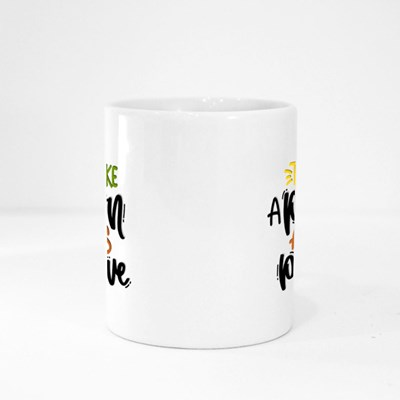 Think Like a Proton Always Positive Magic Mugs