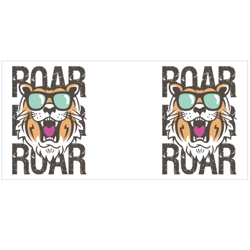 Roar Tiger Head Colour Mugs
