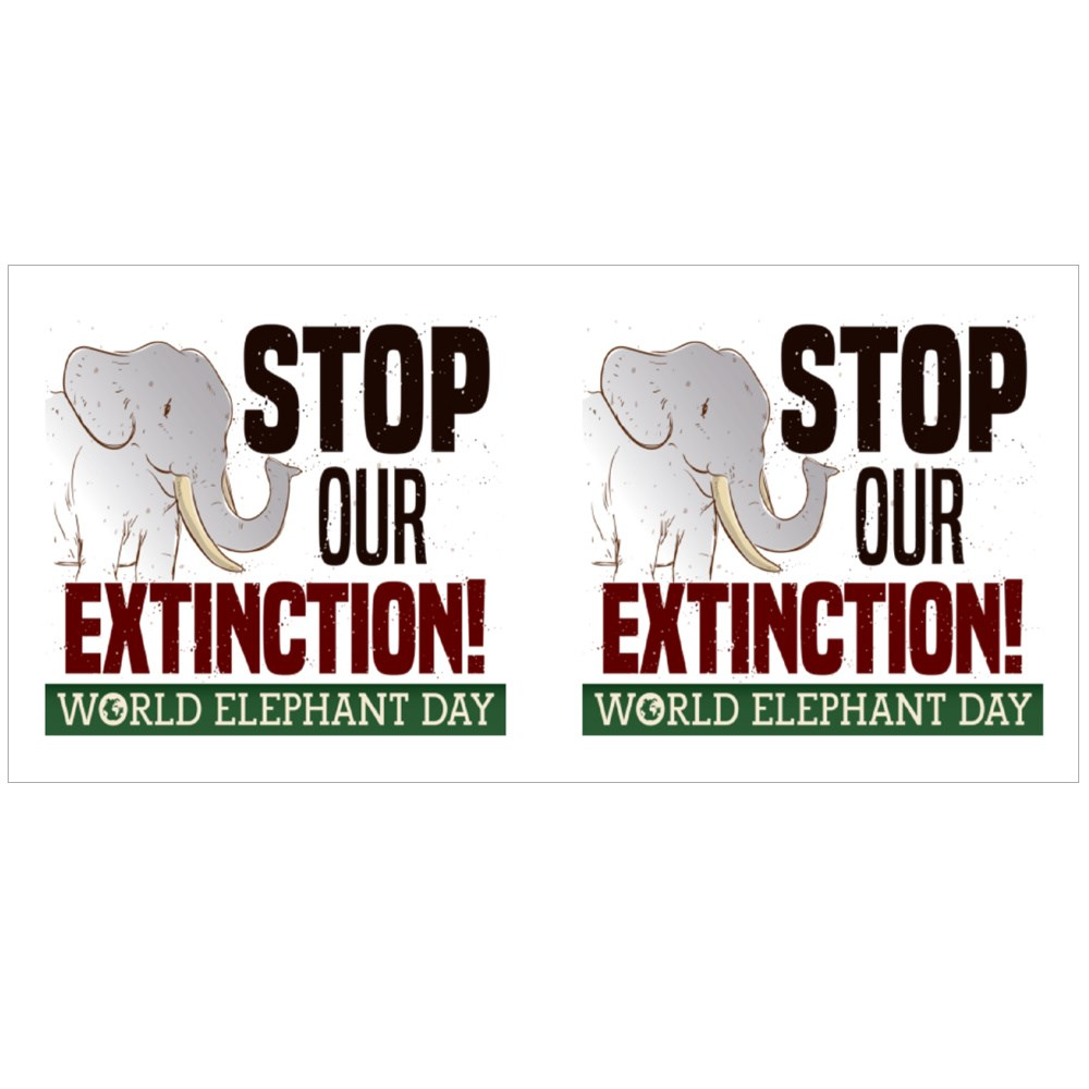 Stop Our Extinction! Colour Mugs