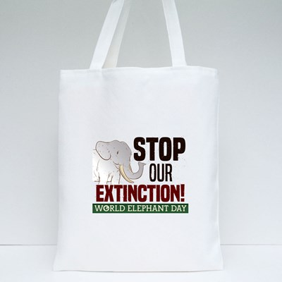 Stop Our Extinction! Tote Bags