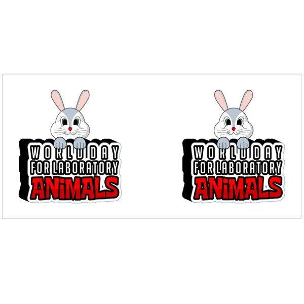 World Day for Laboratory Animals Colour Mugs
