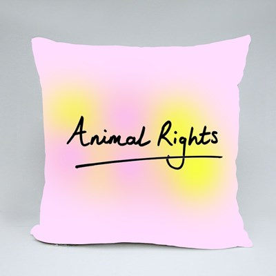 Animal Rights Throw Pillows