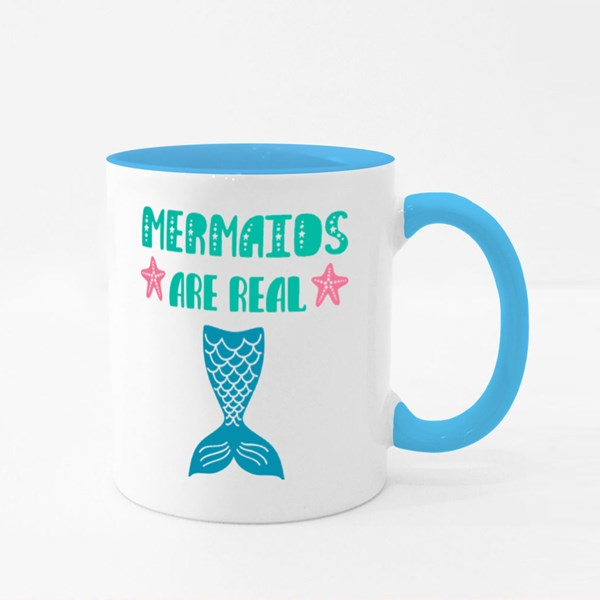 Mermaids Are Real Life Colour Mugs