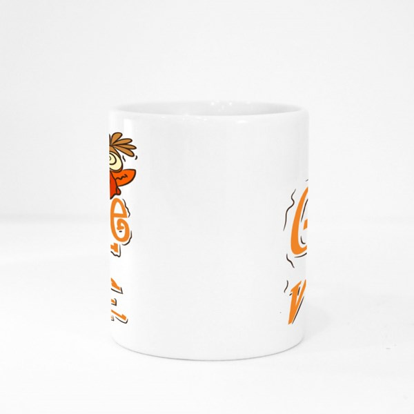 Gobble Till You Wobble Thanksgiving Colour Mugs