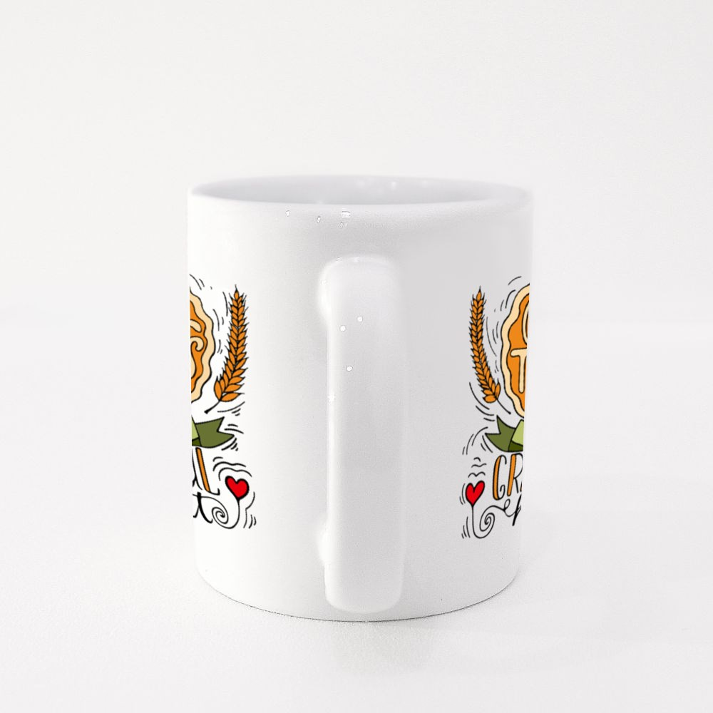 Give Thanks With a Grateful Heart Colour Mugs