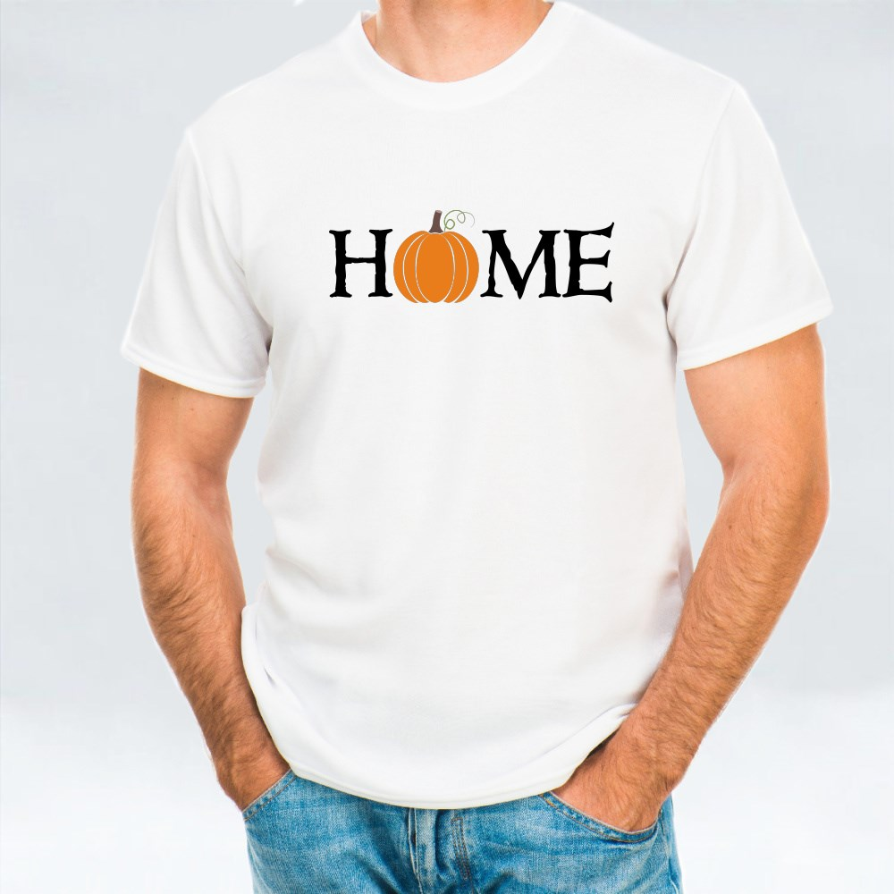 Home Autumn Pumpkin for Halloween T-Shirts