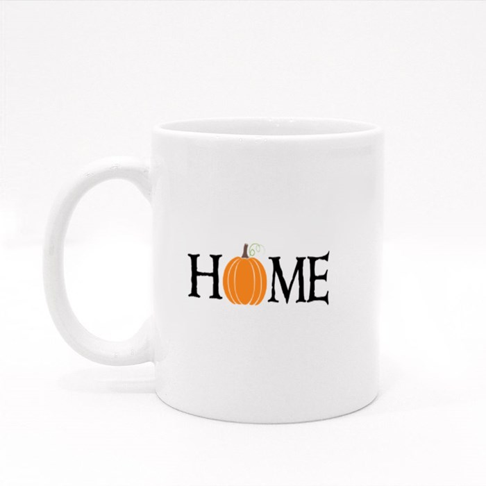 Home Autumn Pumpkin for Halloween Colour Mugs