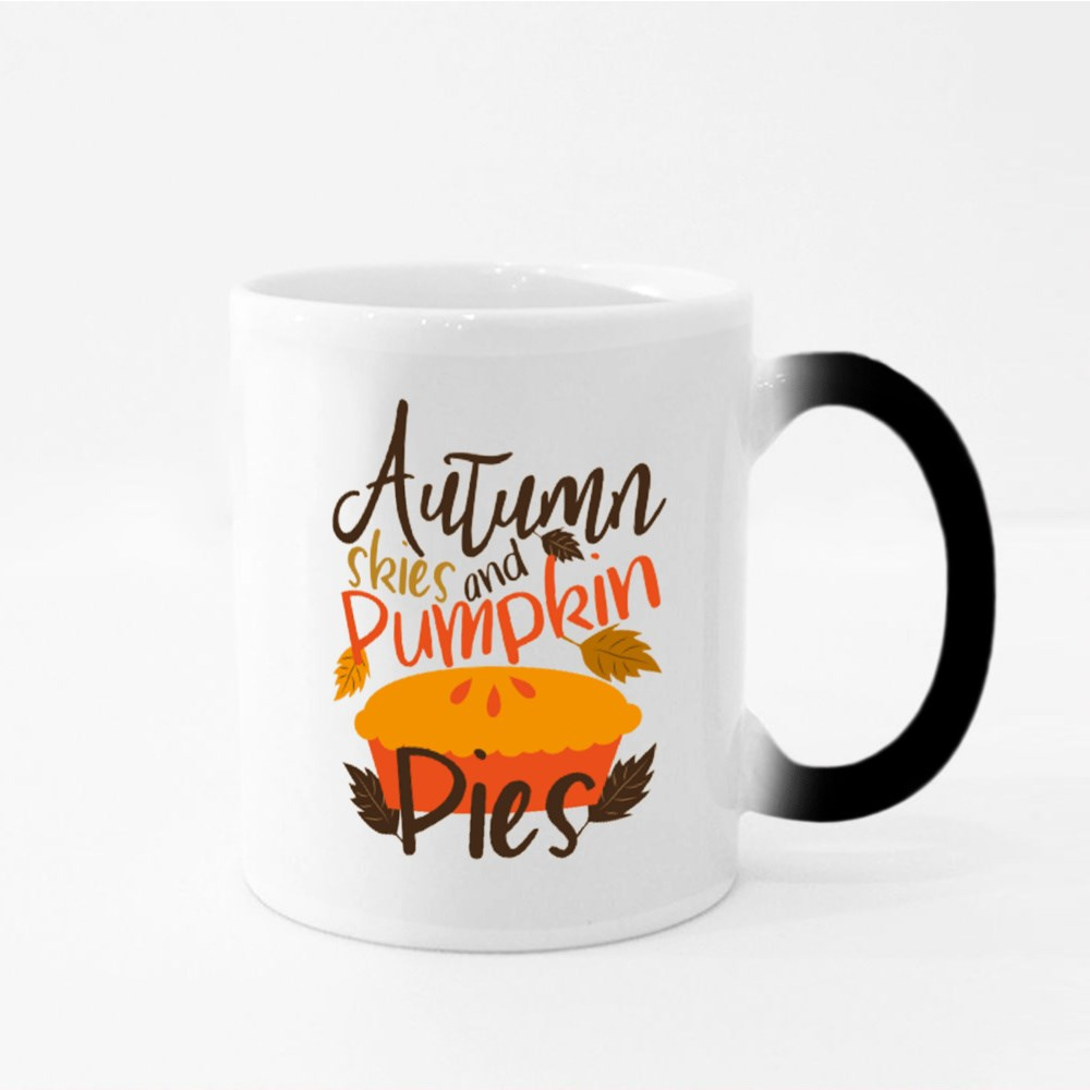 Autumn Skies and Pumpkin Pies Magic Mugs