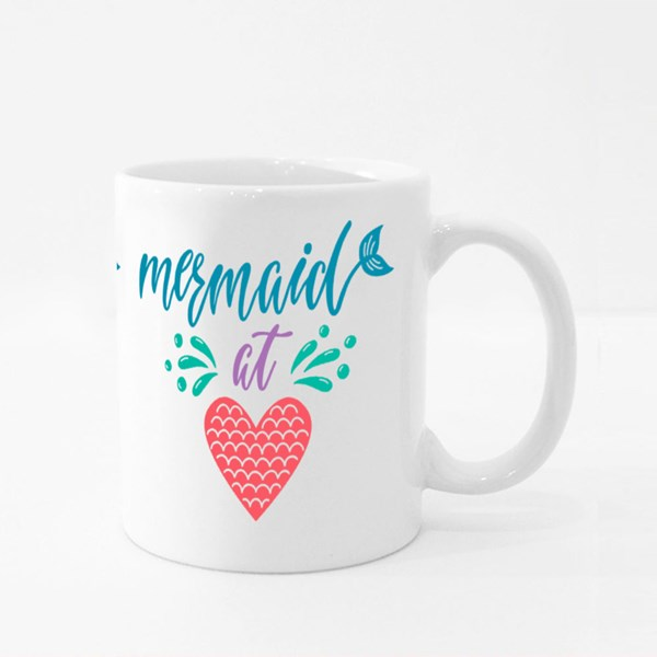 Mermaid at Heart Summer Colour Mugs