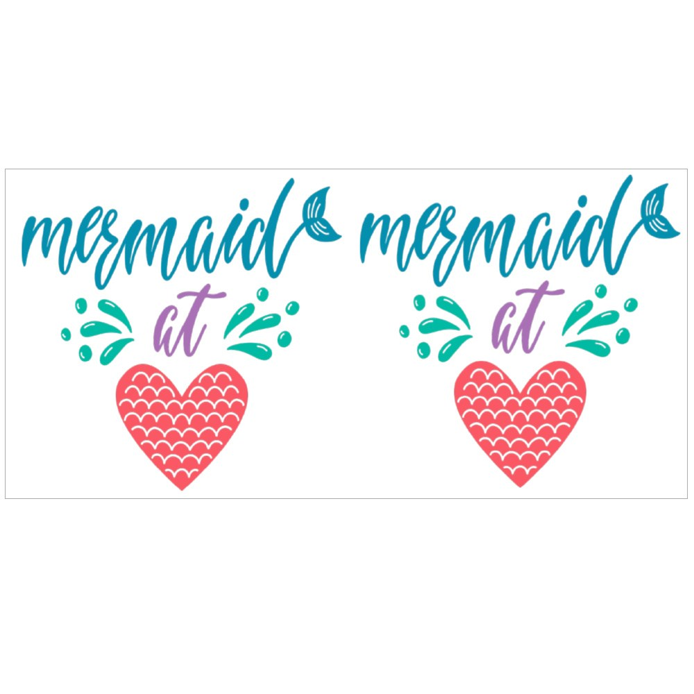 Mermaid at Heart Summer Magic Mugs