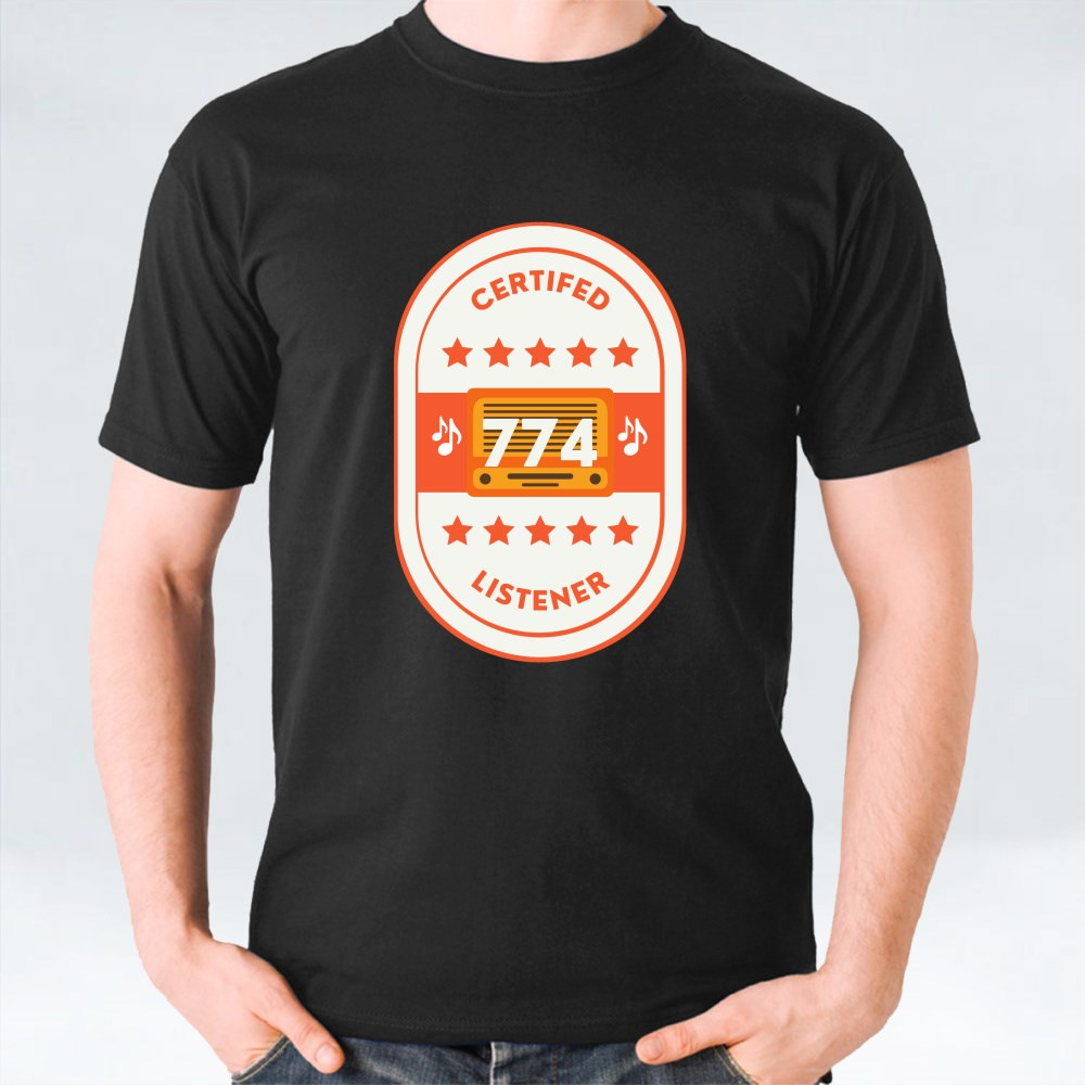 Certified 774 Listener T-Shirts