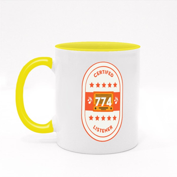 Certified 774 Listener Colour Mugs