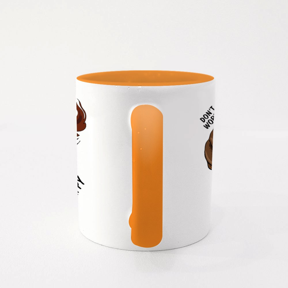 Don't Worry Be Happy Colour Mugs