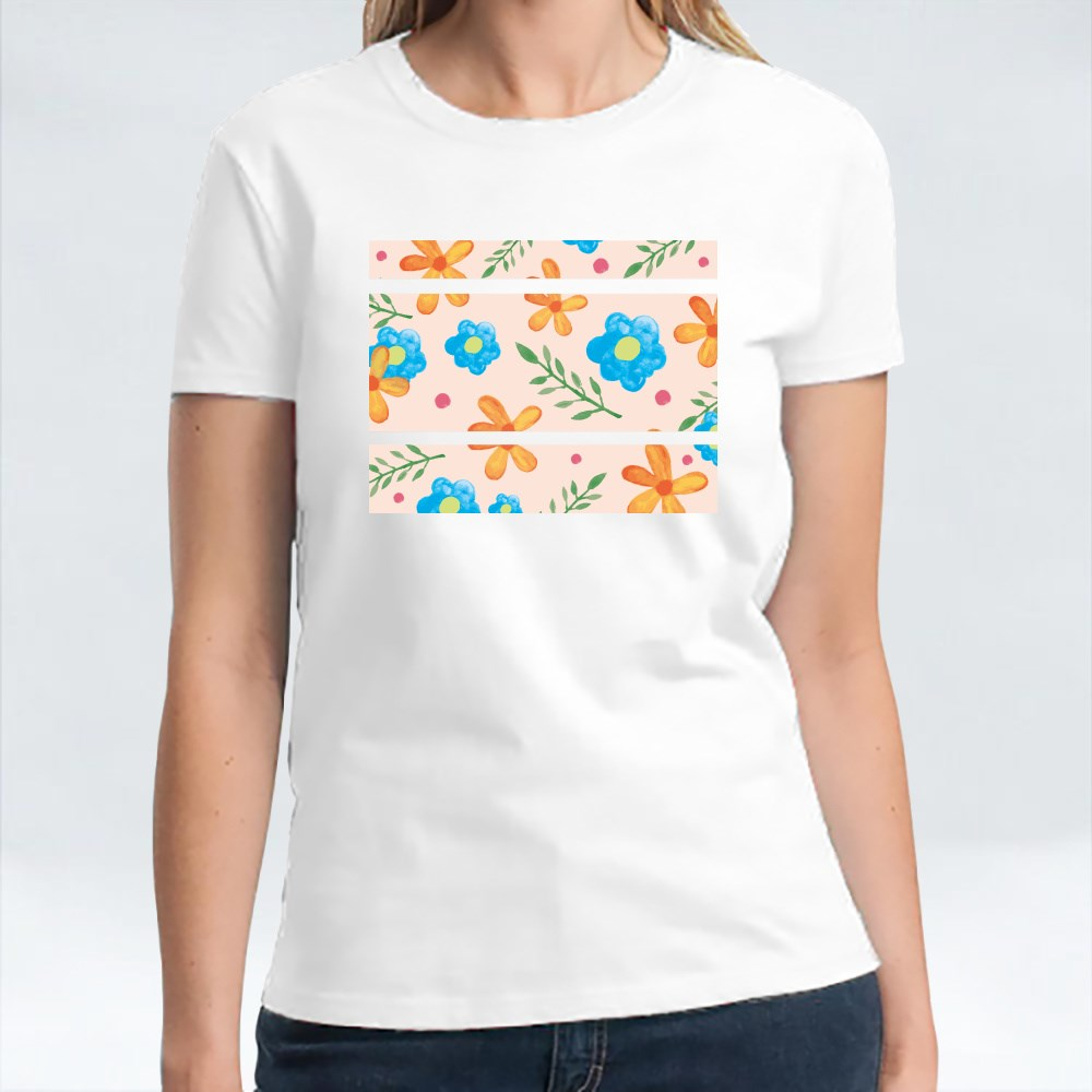 Floral Pattern Summer Ver 2 T-Shirts