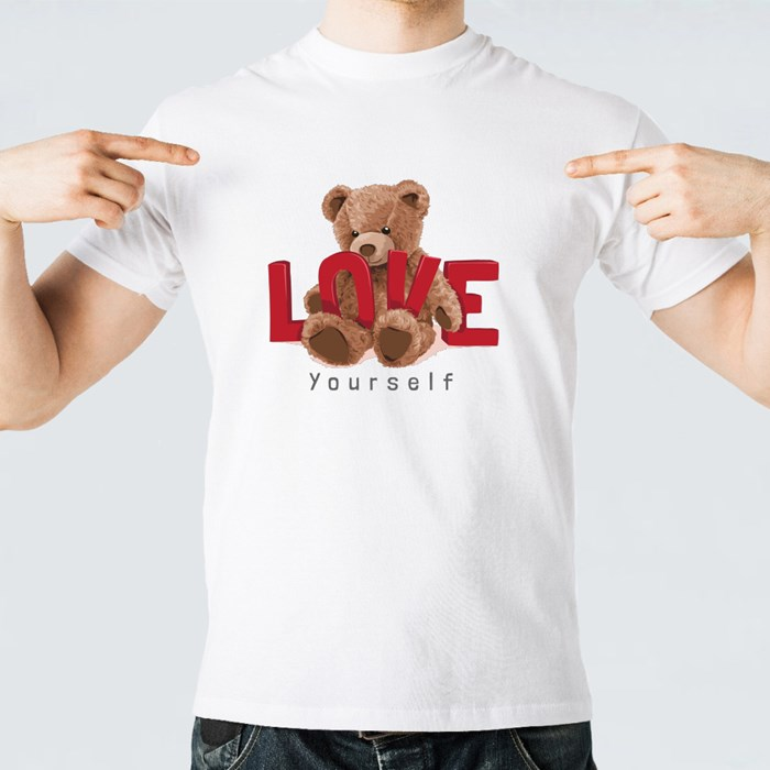 Cute Toy Bear Love Yourself T-Shirts