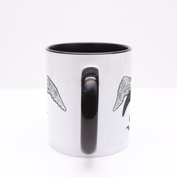 Penguin With False Artificial Wings Colour Mugs