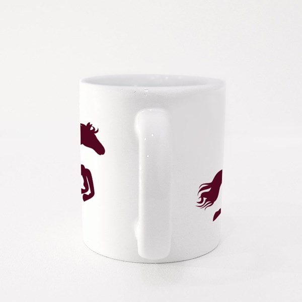 Don't Stop! Horse Rider Colour Mugs