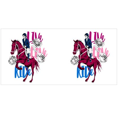 Live Love Ride the Galloping Horse Magic Mugs