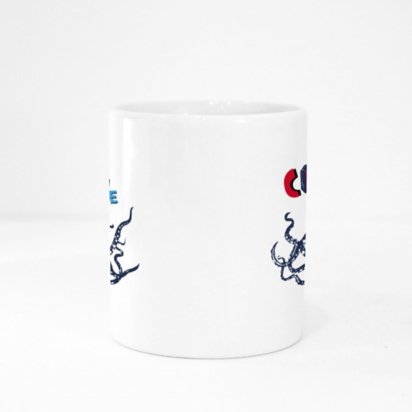 Octopus With Glasses: Cool Dude Colour Mugs