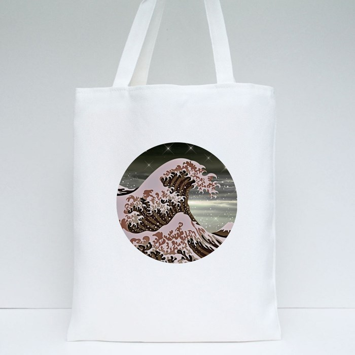 The Wave Tote Bag Tote Bags