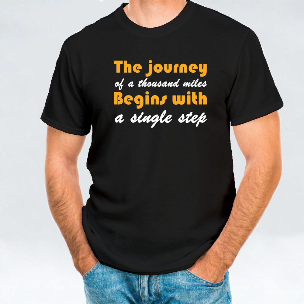 The Journey of a Thousand Miles T-Shirts