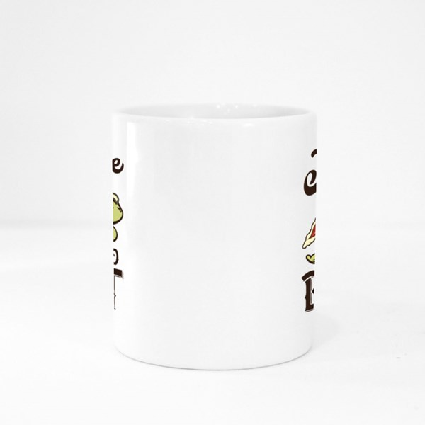It's Time to Boost - Turtle on a Rockter Colour Mugs