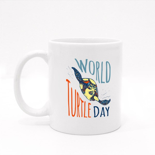 World Turtle Day 23Rd May Colour Mugs
