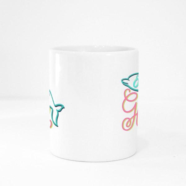 Ocean Glory Positive Motivational Quotes Colour Mugs