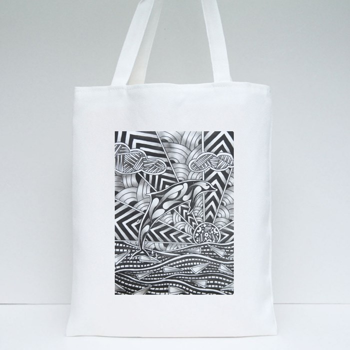 Zentangle 2 Tote Bags
