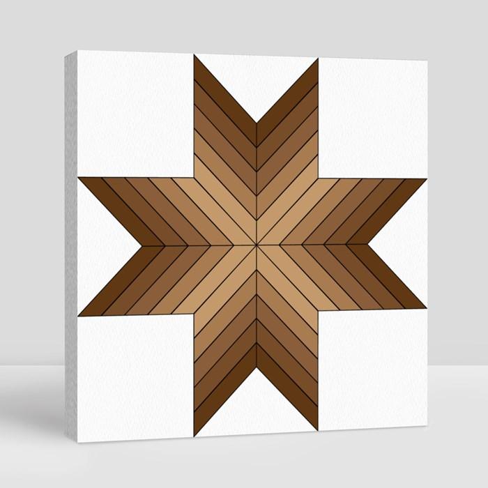 Pattern 003 Canvas (Square)