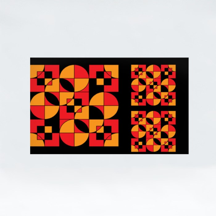Pattern 005 Stickers (Rectangle)