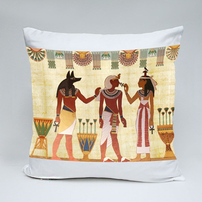 The Egypt 7 Throw Pillow Throw Pillows