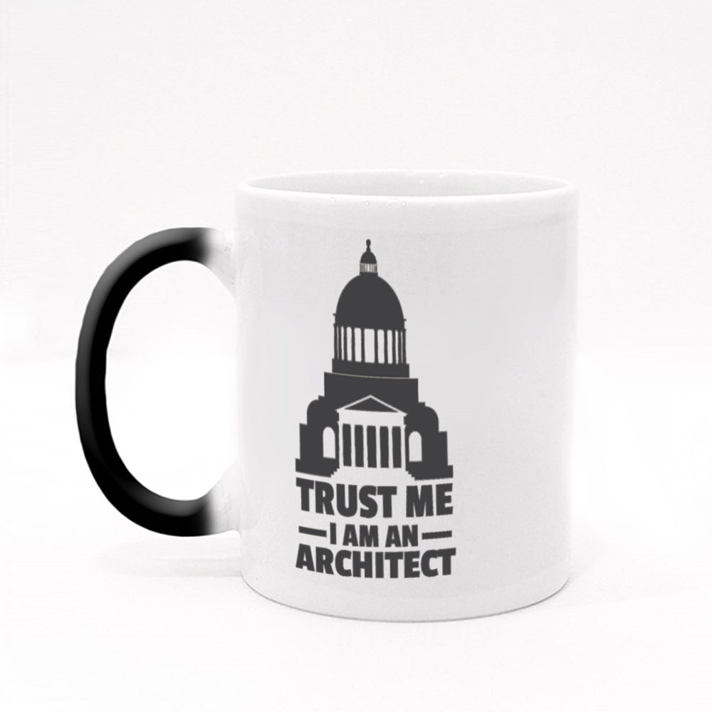 Trust Me I Am Architect Magic Mugs