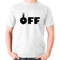 Fork Off Typography Shirt