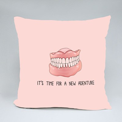 It's Time for a New Adventure Throw Pillows