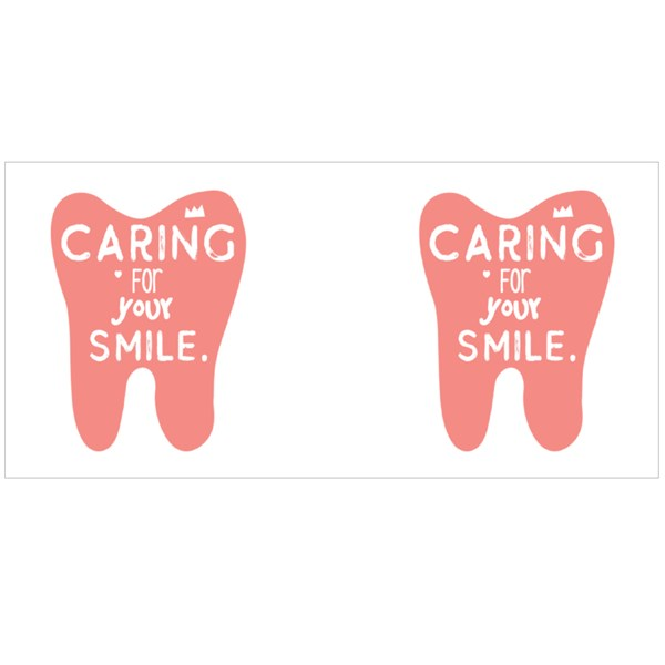 Caring for Your Smile Colour Mugs