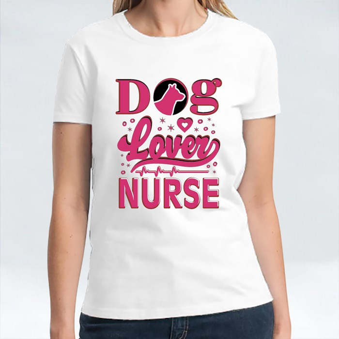 Dog Lover Nurse for Pet Lovers T-Shirts