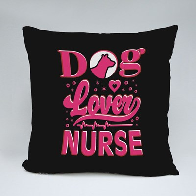 Dog Lover Nurse for Pet Lovers Throw Pillows