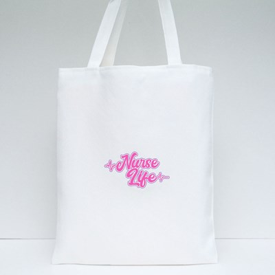 The Life of a Nurse. Tote Bags