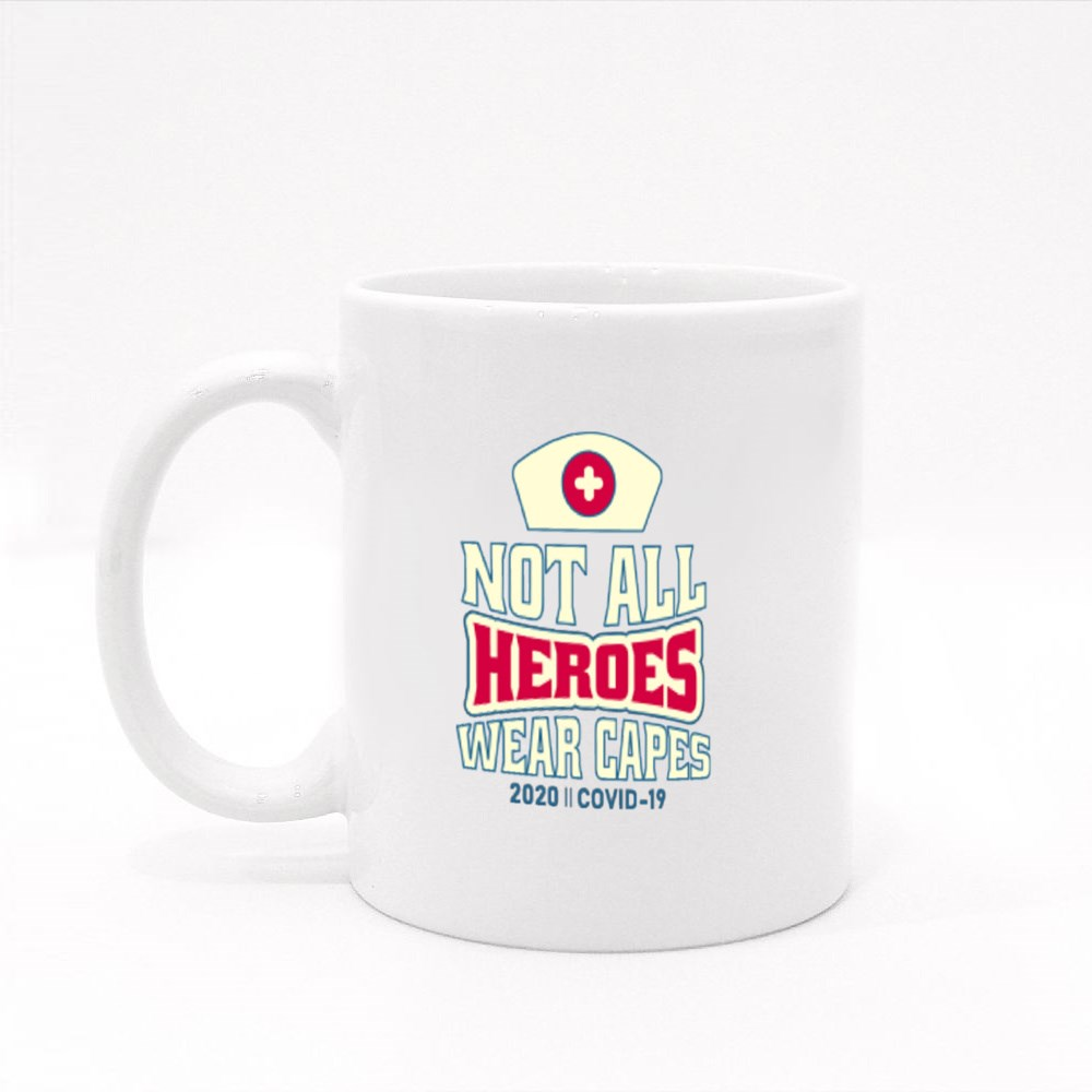 Not All Heroes Wear Capes Colour Mugs