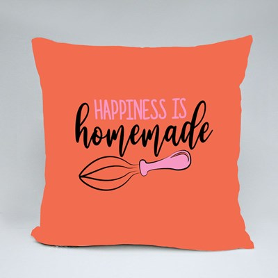 Happiness Is Homemade Throw Pillows