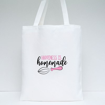 Happiness Is Homemade Tote Bags